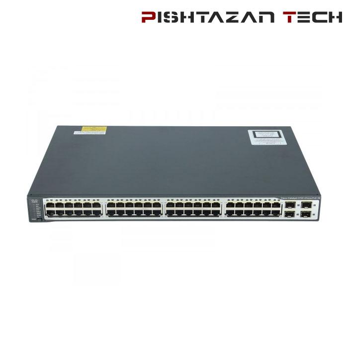 سوئیچ Cisco مدل WS-3750V2 48PS-S
