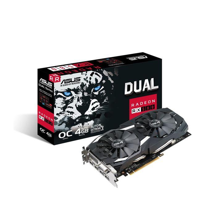 کارت گرافیک ایسوس مدل RX580 4GB DDR5