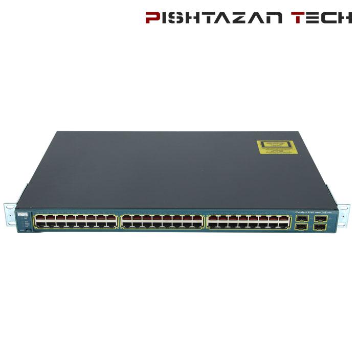 سوئیچ Cisco مدل WS-C3560-48PS-S
