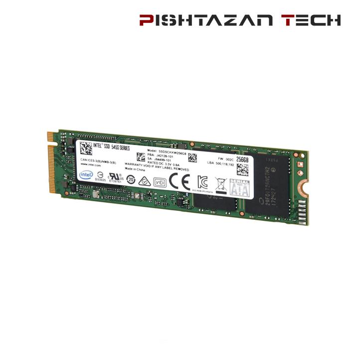 حافظه SSD اینتل مدل M.2 ظرفیت 256 گیگابایت