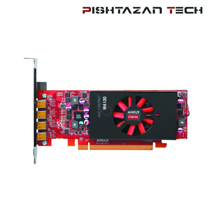 کارت گرافیک مدل ATI AMD FirePro W4100