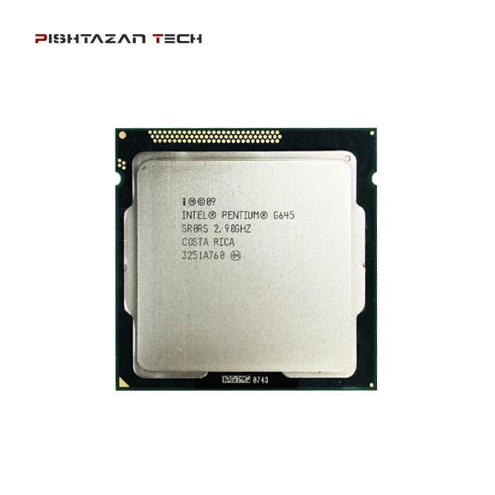 پردازنده اینتل Pentium Dual Core G645
