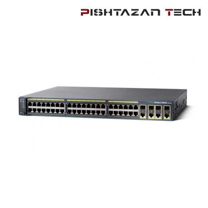 سوئیچ Cisco مدل WS-C2960G-48TC-L