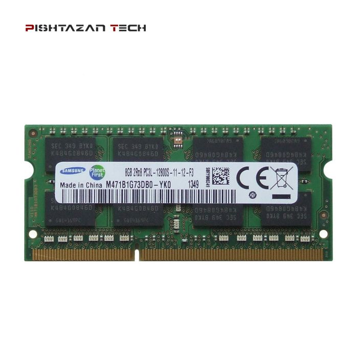 رم لپتاپ سامسونگ 8 گیگابایت DDR3 1600